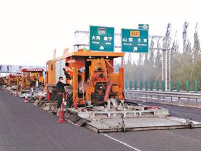 G55山西二广高速施工案例